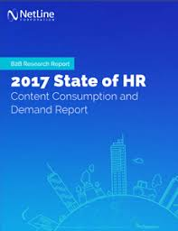 Netline Industry Report: 2017 State Of Human Resources: Content ...