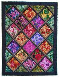Free Quilt Patterns For Beginners | Tuesday Garden Club Lap Quilt ... & Patchwork · Free Quilt Patterns For Beginners ... Adamdwight.com