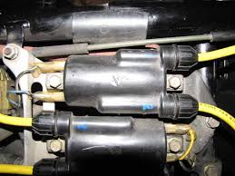 1984 honda magna v65 firing order v4musclebike com and blue to one and black white and yellow to the other the positive negative shouldn t matter which way they are hooked up on each coil while the blue