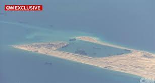 Image result for Các công trình cải tạo của Trung Quốc trên biển Hoa Nam