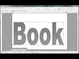 Book Folding Pattern In Msword Youtube