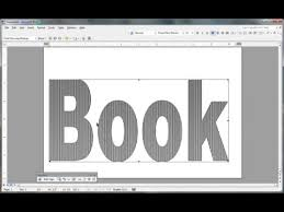book folding pattern in msword