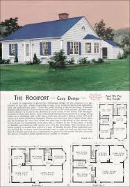 1940 rockport mid century colonial revival cottage
