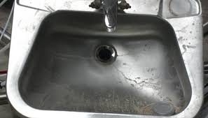 stainless steel sinks are simple to clean and maintain