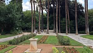 a fascinating program in the national garden in athens