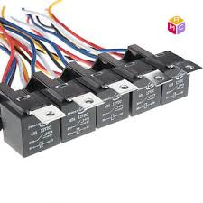 0lot of 5 oem mac relay f0ab 14b192 aa black multi purpose 5 pin image is loading 0lot of 5 oem mac relay f0ab 14b192
