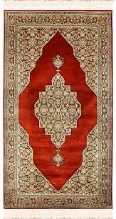 2 5 x4 5 bidjar red silk rug oriental carpet medallion area rugs hand knotted