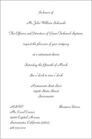 Formal Business Invitation How To Format A Business Invitation Dummies