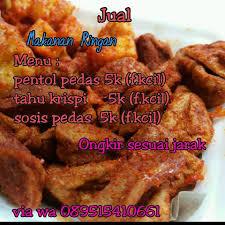 Resep makanan ringan pedas murah enak untuk dijual disekolah. Jajanan Ringan Pedas Malang Home Facebook