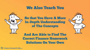 why choose us to do my finance homework finance homework help