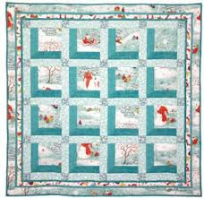 Quilt Inspiration: Free Pattern Day: Attic Windows Quilts & Olive Rose, free quilt pattern by Valori Wells for Free Spirit Fabrics.  Christmas Windows ... Adamdwight.com
