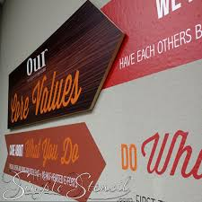 let us create your business logo and company mission statement into a eye catching wall display on business logo wall art with business logo mission statement custom vinyl wall art design
