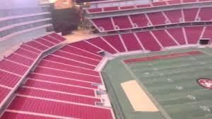 New 49ers Stadium 3d Tour Levi Stadium Youtube