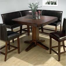 small kitchen table with bench seating casual bistro design with kitchen nook table set on dark small kitchen table with bench