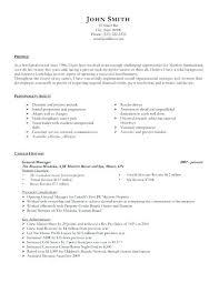Manager Resume Examples Amazing Sample General Resumes General Manager Resume Template Premium