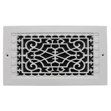 smi ventilation s victorian wall mount 6 in x 12 in opening 8