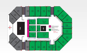 The Arena Corbin Ky Seating Chart Seating The Corbin Arena