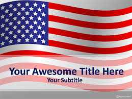 Free Usa Flag Powerpoint Template Download Free Powerpoint Ppt