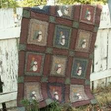 Shabby Snowman Rag Quilt Kit - $108.00 | Quilting Corner ... & Ragged Shabby Snowman Quilt Pattern Adamdwight.com