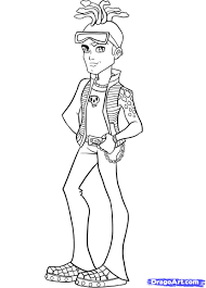 Men Monster High Coloring Pages Free Printable Coloring Pages For ...