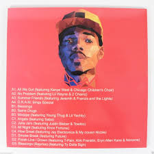 Chance The Rapper Coloring Book Vinyl Christmas Wishlist 2016