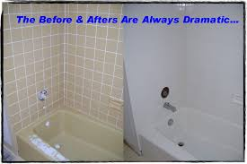 reglaze bathtub cost resurface tile and tub banda done to