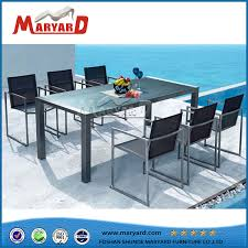 china top grade 6 seater dinner party table set china modern coffee table set outdoor pvc table chairs set
