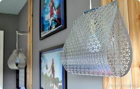 unique diy lighting. Hanging Scrap Metal Lamp Unique Diy Lighting