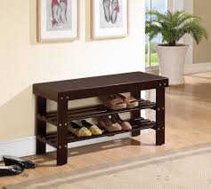 Image of: Small Entry Bench With Shoe Storage