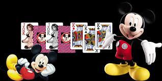 Hasil gambar untuk gambling card mickey mouse