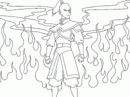 Small Picture Avatar In Avatar The Last Airbender Coloring Pages glumme