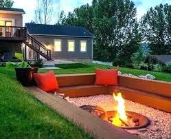 seating area around fire pit outdoor seating area outdoor fire pit seating ideas elegant fire pit