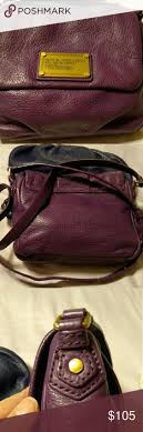 Marc by Marc Jacobs Q Isabelle Eggplant colored crossbody mini bag, NWOT!  Holds phone
