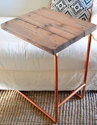diy metal furniture. This DIY Copper Pipe Laptop Table Is So Cool! Check Out The Step-by-step Tutorial At Home Remedies. || @homeremediesrx Diy Metal Furniture
