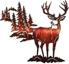 on neil rose metal wall art with alpine mulley by neil rose wildlife laser cut metal wall art