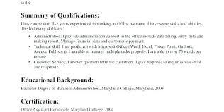 Sample Medical Assistant Resumes Objective For Resume Medical