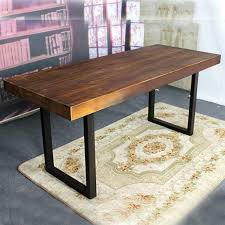 wrought iron and wood furniture. American Country Wrought Iron Vintage Wood Dinette Combination Of Solid Furniture Practical And Innovative Hotel Dining T