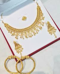 Gold Set Design 2019 In Pakistan Maansi7 Gold Bangles Design Gold Jewellery Design