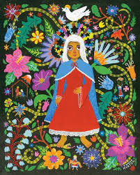 The Art and Life of Janna Morton: Mary, the Blessed Mother   Mother art,  Art, Blessed mother