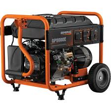portable generators. #1 Top Seller FREE SHIPPING \u2014 Generac GP8000E Portable Generator 10,000 Surge Watts 8,000 Rated Watts, Electric Generators E