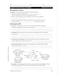 habitat and niche activity sheet answers darwins theory of evolution worksheet chapter 15 darwins theory
