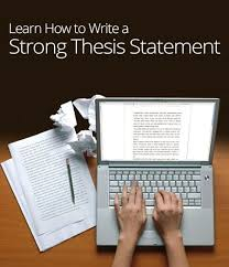 How to Write a Strong Thesis Statement  TAMUGGAdvising