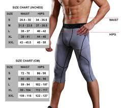 Details About Nooz Mens Pro Compression 3 4 Biking Running Short Tights Pants
