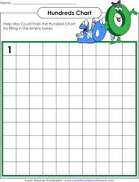 Free Hundreds Chart Blank - PDF   162KB   1 Page(s)