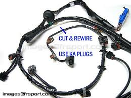 sr20det swap engine harness wiring diagram guide sr sr20 the plugs on the ka harness or wire them up directly if you don t have the ka harness only two of those plugs are used while the third is unrequired