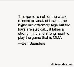 Strong Mind Quotes Delectable Motivational Quotes With Pictures Many MMA UFC This Game Is Not