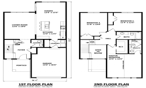 Modern Two Story House Plans 2 Floor House, Two Storey Modern House Designs  Mexzhousecom