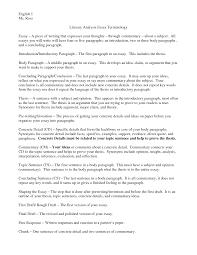 Example Of Literature Essays 9 10 Interpretive Essay Examples Durrancesports Com