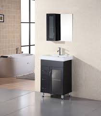small single sink vanity 24 inch modern single sink bathroom vanity with ceramic small powder