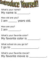 Introduce Yourself Interview Sample Essay Www Moviemaker Com